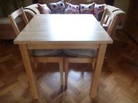 Ikea Table & 2 Chairs in Good Condition