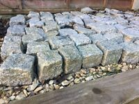 granite setts, 150 in total, 100mm 4""