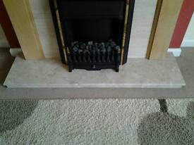 Marble Fire Hearth