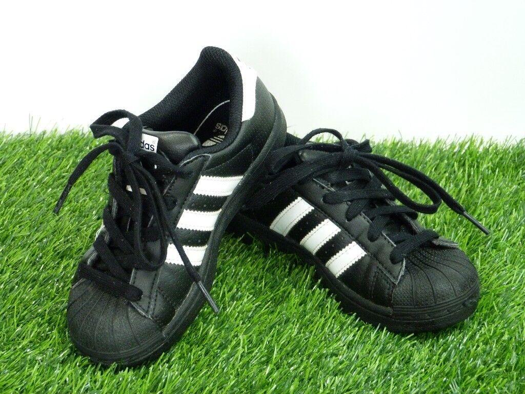 Boys Adidas Original trainers like new size UK 11K  a5209c16b
