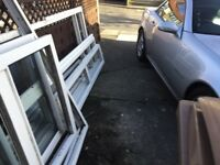 DISMANTLED UPVC PORCH WITHOUT ROOF