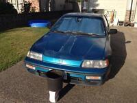 1991 Honda CRX -- $2500 OBO