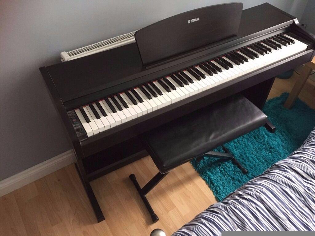 Yamaha arius ydp 131 digital piano in rosewood weighted for Yamaha dgx640c digital piano cherry