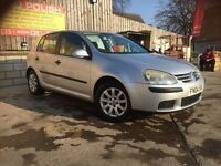 Volkswagen GOLF 1.6 SE 04 REG 1 PREVIOUS LADY OWNER + NEW CLUTCH FITTED