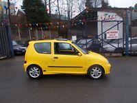 Fiat Seicento 1.1 Michael Schumacher Limited Edition 3dr AWESOME COLOUR LADY OWNED