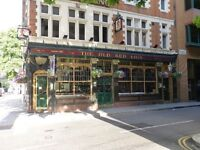 Part time bar staff (central London)