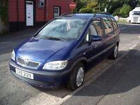 2004 Vauxhall Zafira (DTi) Diesel