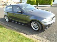 BMW 1 SERIES 2.0 D - 5 DOOR - M SPORT - GREY - Great condition