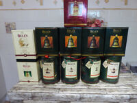 11 Christmas Ceramic Bells from 1988/1998 Boxed full