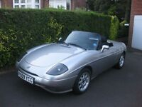 fiat barchetta low mileage with full service history