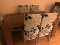 Sturdy Rhino Dining Table and 6 Chairs
