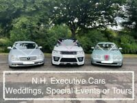 Wedding Car, Executive Cars, Airport Transfers, Special Occasion Cars, Golf Tours, Highland Tours
