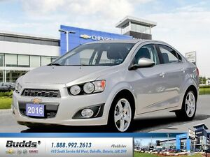 2016 Chevrolet Sonic LT Auto 0.9% for up to 24 months O.A.C.!...