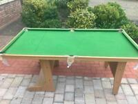 BCE folding pool table