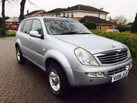 SSANYONG REXTON 2006 2.7 CDI NOT jeep forester shogun trooper sj 4x4 defender discovery jimmy vitara