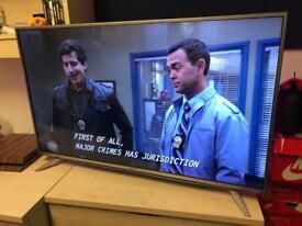 """Sharp 43"""" TV 4K display smartTV"""