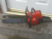 PETROL CHAINSAW £50