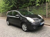 Nissan Note 1.4 SE 2007 -- 12 Months MOT -- Full Service History -- Immaculate Condition, HPI Clear
