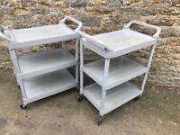 rubbermaid trolleys £45 each