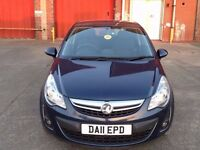 VAUXHALL CORSA 1.3 DIESEL ECOFLEX EXCITE,HPI CLEAR,1 OWNER,20 ROAD TAX YEAR,A/C,ALLOYS,1 YEAR M.O.T