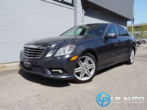 2010 Mercedes-Benz E-Class E350 4MATIC! Only 65000kms!