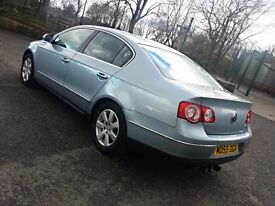 2006 VOLKSWAGEN PASSAT TDI,140 BHP,6 SPEED MANUAL,11 MONTHS MOT,HPI CLEAR,LADY OWNER,P/X..