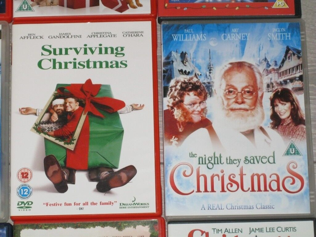 christmas dvd job lot 11x christmas dvds - The Night They Saved Christmas Dvd