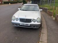 Mercedes e320cdi 51 reg low miles for sale or swap