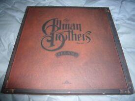 ALLMAN BROTHERS BAND - DREAMS VINYL BOX SET. RARE. MINT/UNPLAYED.