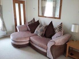 'L' Shaped chaise sofa