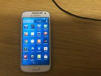 Samsung galaxy S4 Mini White 8gb unlocked to all networks £80, cash only no PayPal/bank transfers