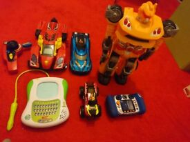 Vtech leap frog hot wheels etc