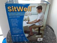 Sitwell Adjustable Wobble Stool