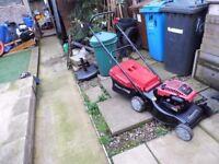 mountfield sp 470 petrol lawnmower with grassbox