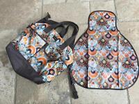 Momymoo designer changing bag
