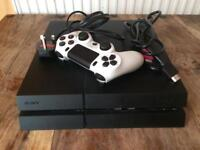 PS4 500GB with controller