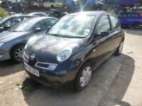 NISSAN MICRA - EY58URV - DIRECT FROM INS CO