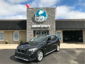 2012 BMW X1 LOOK PANOROOF! $135.00 BI-WEEKLY+TAX!
