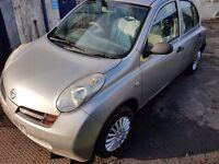 Nissan micra 2003 ( full years mot ) 1 litre