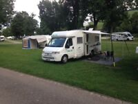 2001 Pilote Pacific Motorhome on Peugeot Boxer 2.8 HDi. RHD. Only 49,800 miles