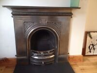 Victorian Style - Cast Iron Fireplace