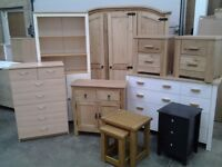 FURNITURE: Dining tables and chairs, double beds, single beds, drawers, bunks etc etc