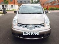 NISSAN NOTE VISIA 1.4 MANUAL PETROL 5 DOORS LOW MILEAGE