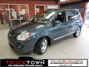 2009 Kia Rondo LOW KM-BLUETOOTH-HEATED LEATHER-SUNROOF