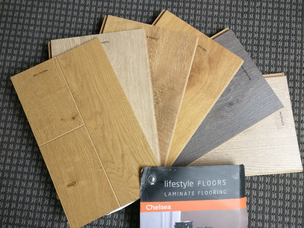 Brand New Chelsea Extra 8mm Laminate Flooring By Lifestyle Floors