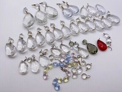 Crystal Glass Prisms, Glass Chandelier Replacement Crystals