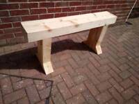 Quality hand made garden bench
