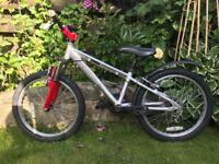 Revolution Cairn Kids Mountain Bike, 20 inch wheels, 6 gears, front suspension