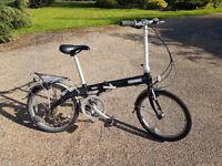 Dahon Eco C7 Folding Bike. Serviced. Good used condition.