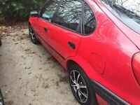 Toyota Corolla 1.3 Red 5dr DRIVES EXCELLENT Superb Mileages